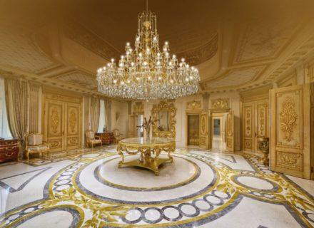 Villa chandelier in Dagestan